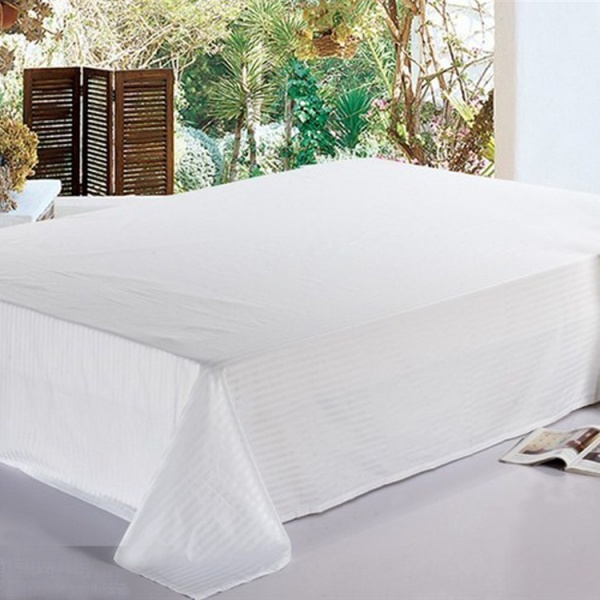 1cm stripe bed sheet